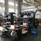 Prensa bicolor de la película de la máquina de Flexo Printimng del rodillo del papel de impresora de la taza de papel