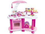 Kind-Spielzeug-Küche-gesetztes kochendes Set für Mädchen (H8251020)
