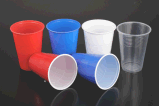 [16وز] لون بلاستيكيّة مزدوجة شعبيّة حزب فنجان