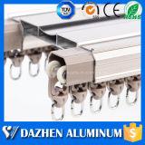 Mais vendidos Cortina personalizada Perfil de alumínio em alumínio