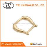Inarcamento chiaro su ordinazione dell'anello del metallo dell'oro per la borsa