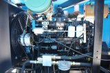 中国製採鉱のための携帯用ディーゼル機関回転式ねじ空気圧縮機
