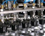 Большие завалка кофеего капсулы продукции и машина запечатывания