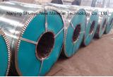 Il colore ha ricoperto l'acciaio galvanizzato normale del TUFFO caldo della galvanostegia del lustrino e della bobina di alluminio in bobine