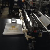 Bester Griff-Beutel-flacher Beutel, der Maschine Zxl-D700 herstellt