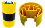 Pare-chocs en plastique en rack pour rack de la protection de l'entrepôt