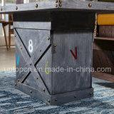 أثر قديم خشبيّة مطعم ثبت أثاث لازم مع تخزين طاولة ([سب-كت780])