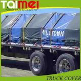 Couverture en plastique de camion, bâche de protection de PE de roulis de feuille