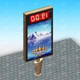 装置のスクローリングLightboxアルミニウム広告永続的なスクロールのMupiの広告