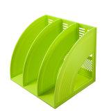 Suporte triplo colorido plástico do arquivo do projeto da forma do uso do escritório