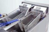 Braadpan Kfc van de Stuiver van Henny de Elektrische automatisch Commerciële Open Diepe