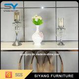 Mesa de console dourada de aço inoxidável de luxo para venda