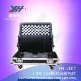 새로운 IP65 120PCS 10W LED 도시 색깔 빛 RGBW는 옥외 빛 LED 벽 Easher 무선 선택을 방수 처리한다