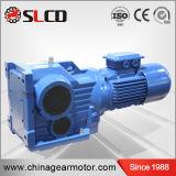 Fabricante profesional de cajas de engranajes biseladas helicoidales del transportador del cemento de la serie del kc para la máquina