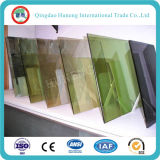 vidrio reflexivo verde de 4-6m m F en venta caliente
