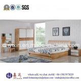 بلوط لون منزل سرير خشبيّة حديث غرفة نوم مجموعة أثاث لازم ([ش-008])