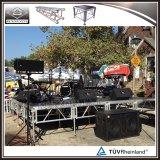 O Portable barato DJ encena o alumínio para o evento, concerto