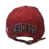 新年の党のためのカスタム方法赤6のパネルCotton/PUの平らな縁の帽子の帽子