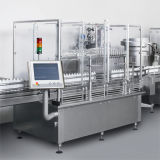 Machine à étiquettes linéaire de machine à emballer de bouteille de machine de remplissage de Full Auto