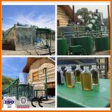 De Chongqing Gebruikte Olie van de Motor van de Motor aan de Raffinaderij van de Olie van de Machine van het Recycling van de Diesel Olie van het Afval