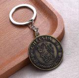 Retro Schlüsselketten-kundenspezifisches Metallschlüsselring-Förderung-Geschenk Keyholder