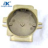 Pièces de coulée de cire perdu au cuivre personnalisées pour pompe