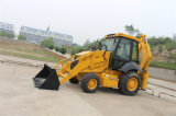 Caricatore dell'escavatore a cucchiaia rovescia dell'azionamento del macchinario 4X4 della costruzione nuovo