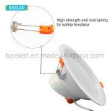 LEDの軽い天井灯12Wの純粋で白いプロジェクト商業LED Downlight