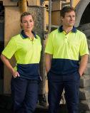 Cooldry haute visibilité uniforme de Polo à manches courtes