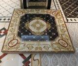 Золотистая кристаллический керамическая плитка ковра с дневным светом