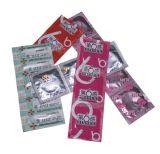 Vierecks-zweifach verwendbare automatische Kondom-Verpackungsmaschine der Qualitäts-Bts-68