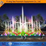 Tipo bocal da água da música dos multimédios vário de 3D na fonte da associação