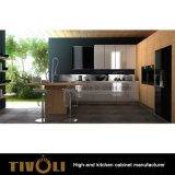 Hoog pvc van het Ontwerp van Italië polijst het Meubilair van de Keuken (AP011)