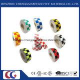 Multi Farben-Rasterfeld-Entwurfs-reflektierendes materielles Retro reflektierendes Band (C3500-G)