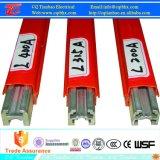 isolierte Hochleistungsaluminium 160A-1250A Leiter-Hauptleitungsträger-System für Kran/Hebevorrichtung