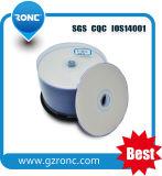 cadre de gâteau imprimable du jet d'encre DVD-R/DVD+R 50PCS de 4.7GB 120min 1-16X