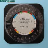 Производство Denrum FDA/CE/Isocertificated керамические ортодонтические скобы