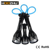 최대 1000lumens를 가진 Hoozhu D11 크리 말 LED는 잠수 빛을%s 100meters를 방수 처리한다