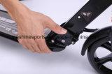 Vespa plegable de aluminio del pie de la buena calidad con las ruedas grandes de la PU