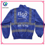 Шинель куртки безопасности высокой видимости отражательная с тельняшкой карманн