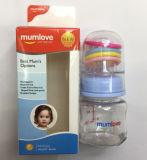 Friedensstifter-führende Flaschen-Milchnahrung-Baby-Flasche gibt Nibbler-Zufuhr an
