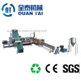 Gránulos de plástico usados que hacen la máquina para el reciclaje del PP de los PP