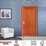 Chambre d'hôtel fini peinture entrée entrée porte en bois (GSP8-024)
