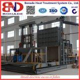 Gás - datilografar a fornalha do tratamento térmico para extinguer rápido
