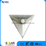 삼각형 은 회색 태양 경로 빛 벽 램프