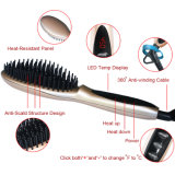 LCD Digital Rose Or Hair Straightening Brush Hair Straightener Fer