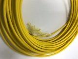 Cabo redondo de uma comunicação da fibra óptica do cabo pendente