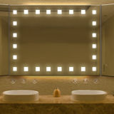 Hotel Electric Lighted Starlight Frameless Bathroom Mirror Light