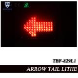 Rotes LED-Pfeil-Endstück-Warnleuchte für LKW-Aufputzmontage (TBF-829L1)