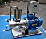 Alto mezclador del homogeneizador del esquileo de la tubería